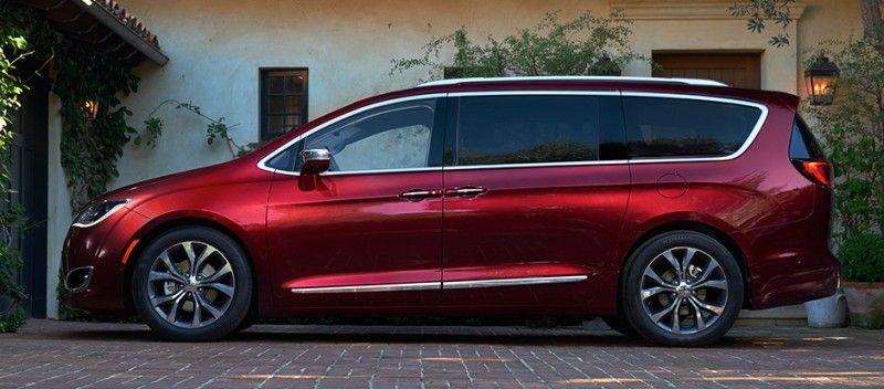 Chrysler Pacifica model 2017