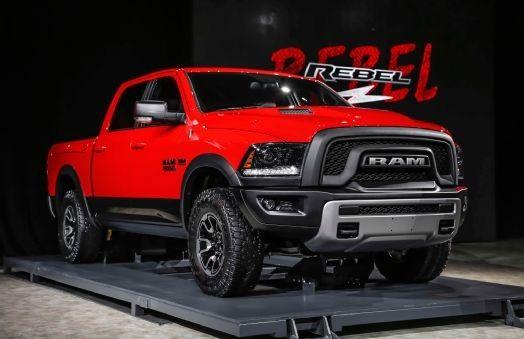 DODGE RAM 1500REBEL model 2015
