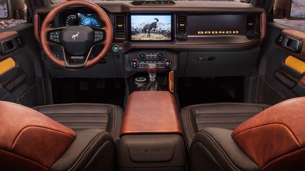 Ford Bronco MY 2021  Novinka